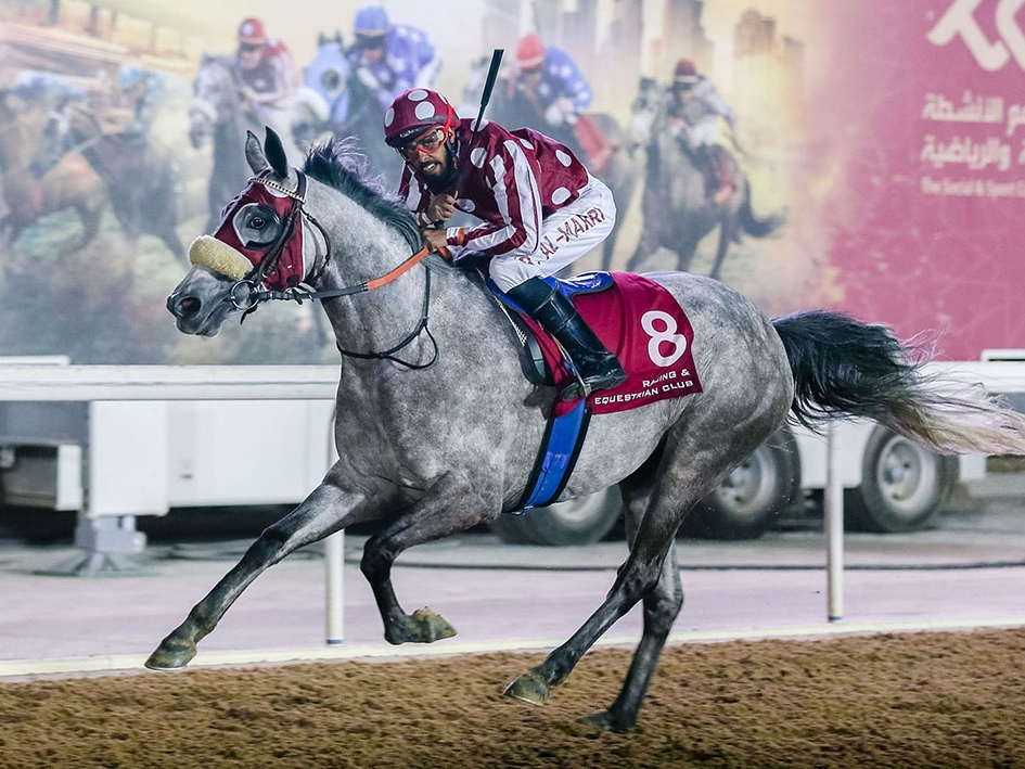 GENERAL AND AL DAHMAs FULL SISTER GETS HER FIRST VICTORY