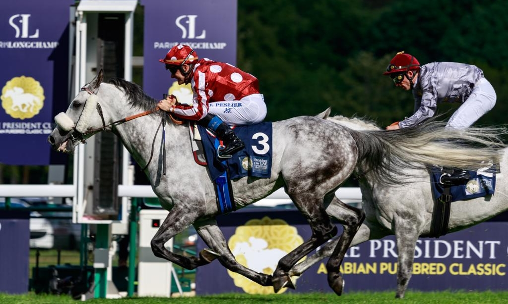 One-two at Longchamp for the progenies raised at the...